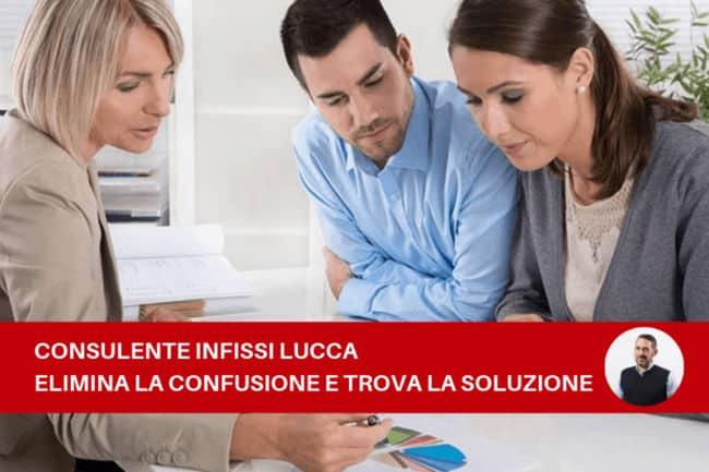 Consulente infissi a Lucca