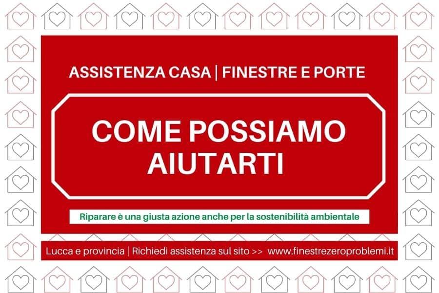 Riparare finestre manutenzione infissi e serramenti a Lucca e provincia